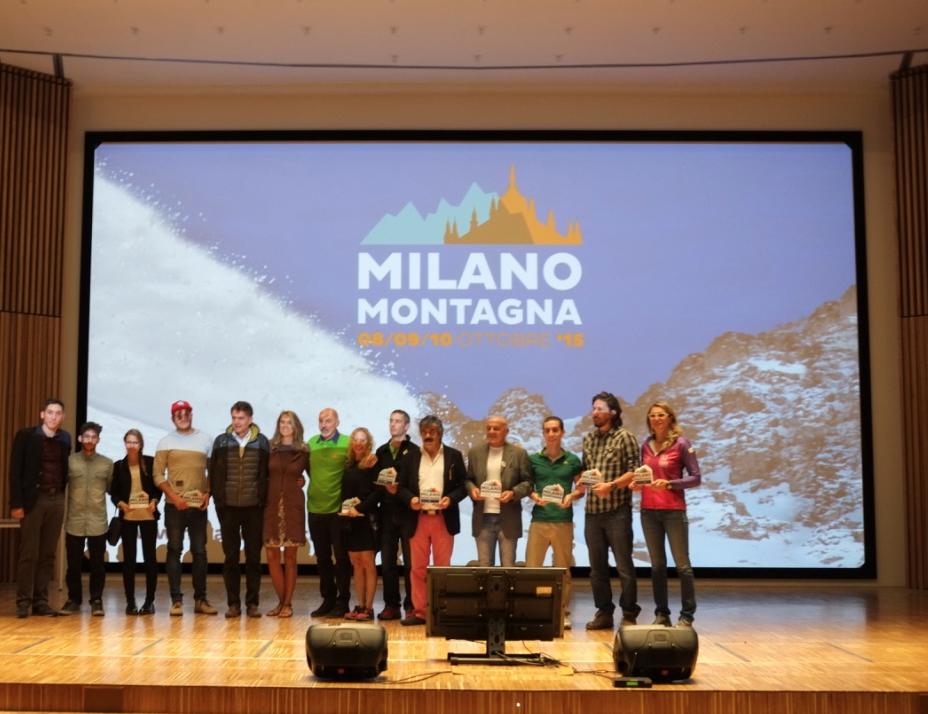 Eccoli quii vincitori di Milano Montagna Vibram Factory 2015! Al centro Laura Agnoletto, ideatrice di Milano Montagna Vibram Factory