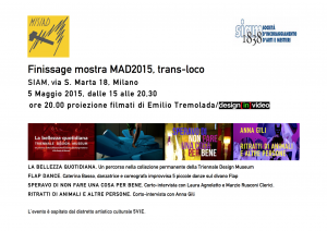 Finissage mostra MAD 2015